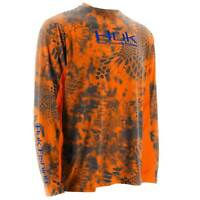 Huk Kryptek Icon Ls, Color: Kryptek Inferno (h1200023ifo)