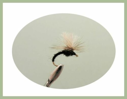 Trout Flies 12 Pack Olive Tan /& Black Klinkhammers Mixed Size 12 to 18