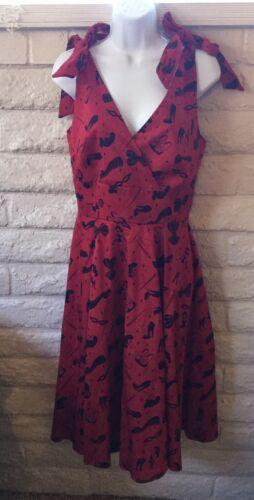 Deadly Dames Micheline Pitt Courtesan Swing Dress