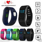 Bluetooth Fitness Heart Rate Monitor Smart Wristband Sport Bracelet Pedometer