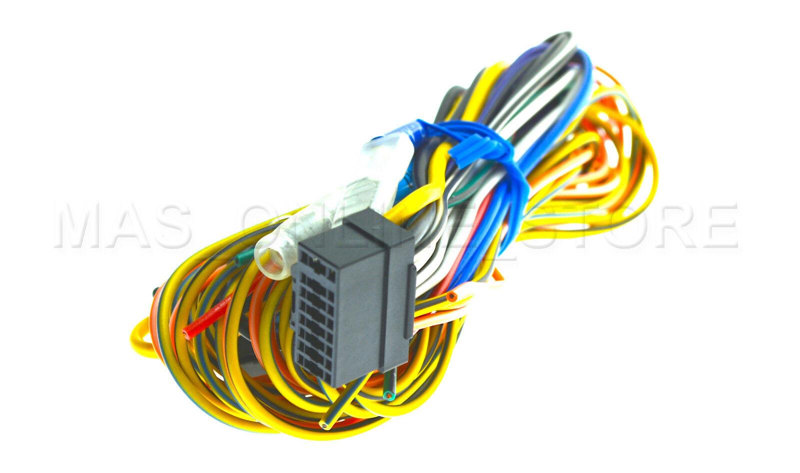 Alpine Iva W200 Ivaw200 W203 Ivaw203 Genuine Wire Harness Ebay W205 Wiring