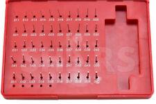 """Shars 50 Pc M0 .011-.060"""" Class ZZ Steel Pin Plug Gage Gauge Set Minus (-) New"""