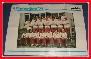 ARGENTINA-W-C-1978-COGED-Poster-team-POLONIA-Polska