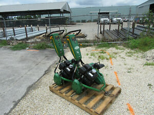John-Deere-220ECut-Hybird-3-5-Honda-Engine-Genator-Altenator-Reel-Mower-2-units