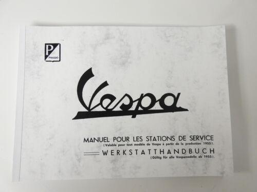 Werkstatthandbuch No.1 Vespa Modelle ab 1955-1964