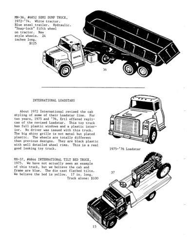 Mcelwee/'s Collector/'s Guide Edição #7 Big Ertl 1950/'s-1990