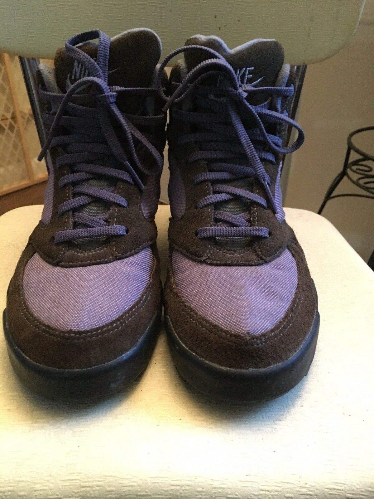 Vintage Nike Caldera Hiking Boot size 8 Purple Brown