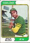1974 Topps Jesus Alou #654 Baseball Card