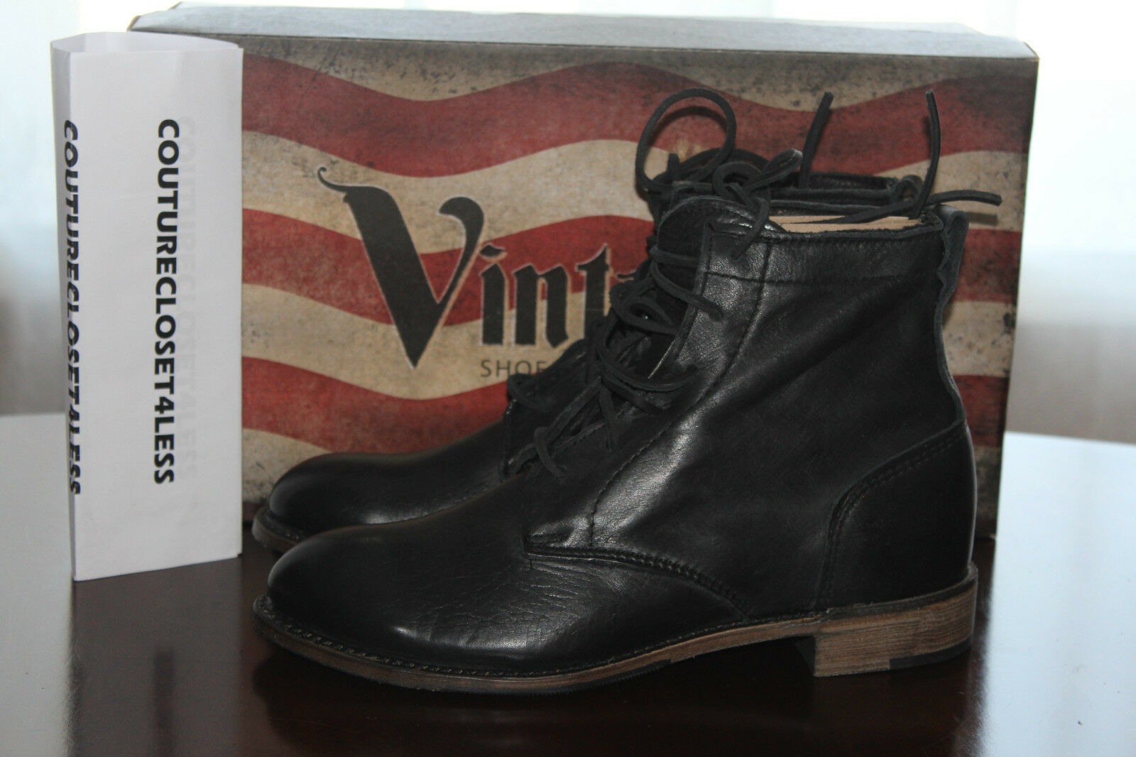 WALK OVER OVER WALK VINTAGE COLLECTION LILLY HARNESS CHUKKA CHOCOLATE  8.5us  309 33a69b