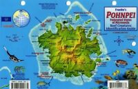 Pohnpei Dive Map & Coral Reef Creatures Guide Laminated Fish Card By Franko Maps