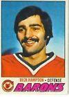 1977 - 1978 Topps Rick Hampton #63 Hockey Card