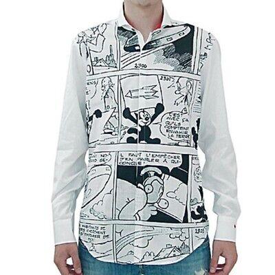 JC de Castelbajac camicia fumetto, comics shirt