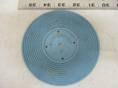 Fisher Price Record Player vintage part 995 Yellow B Barbara Allen Dancer Toy