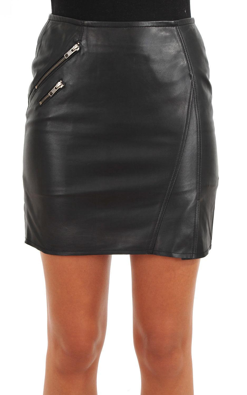 Brand New Womens Leather Skirt Genuine Soft Lambskin Leather Slim fit Skirt