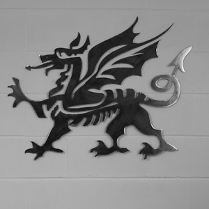 Superior Image Is Loading CYMRU Welsh Dragon Wall Art Solid Steel Metal