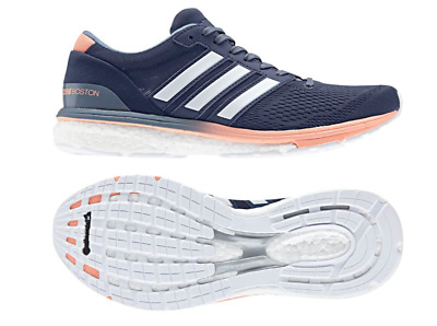 Adidas Adizero Boston 7 W Running Shoes B37385 Ultra boost White Blue Yeezy $120