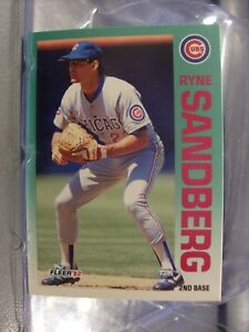 1992 Topps Baseball Card Singles #1 to #249 YOU PICK CARDS