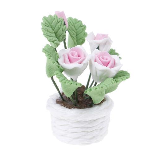 1:12 Dollhouse miniature flowers for dollhouse room living room decor /_ES