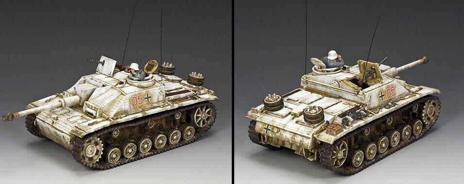 KING AND COUNTRY The Winter STUG III Tank WW2 BBG118