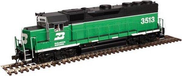 ESCALA H0 - Atlas Locomotora diésel EMD GP40 Burlington Northern 10002390 NEU