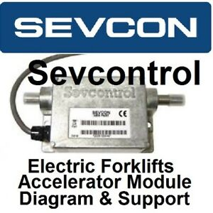 Details about CLARK YALE NISSAN ELECTRIC FORKLIFT SEVCON SEVCONTROL on