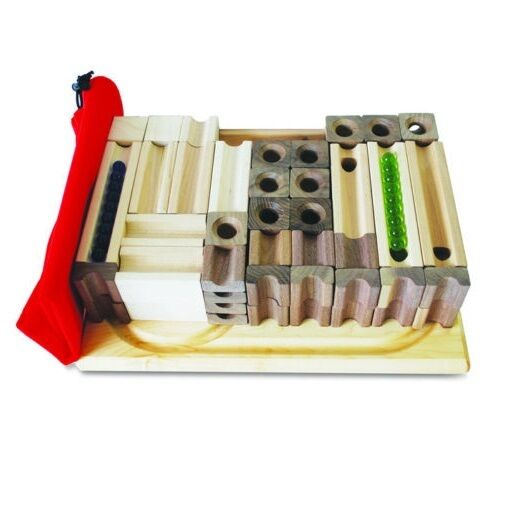 Tedco 80 Building Wooden Block Amp Marble Master Set 20