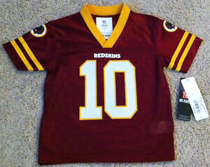 Details about GRIFFIN III RG3 WASHINGTON REDSKINS KIDS/YOUTH FOOTBALL JERSEY NFL APPAREL #10