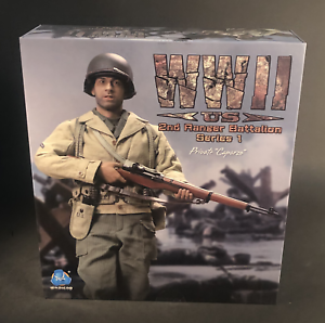DID A80140 WWII US 2nd Ranger Battalion Series 1 Private Caparzo 1//6 Figure