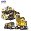 XINGBAO-Blocksteine-Engineering-Vehicle-Giant-Bagger-Spielzeug-8in1-OVP-893PCS Indexbild 2