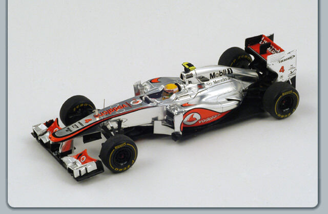 McLaren MP4-27 No.4 Monaco GP 2012 Hamilton S3045 Spark 1:43 NEW!