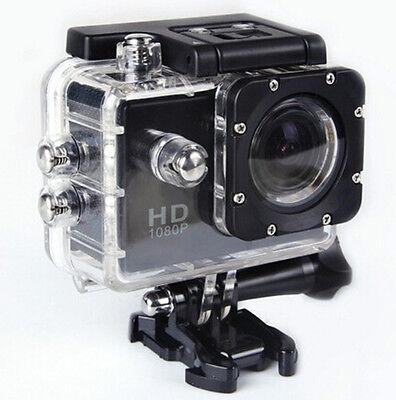 Full HD 1080p Vídeo Cámara DV similar gopr o o SJ4000 Deportiva sumergible