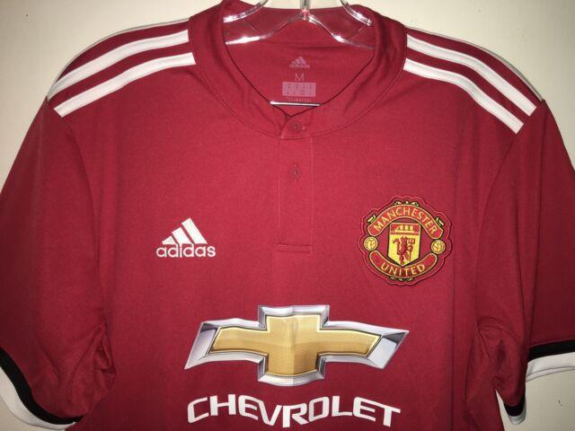 Adidas Men's Manchester United Soccer Jersey Climacool Medium BS1214
