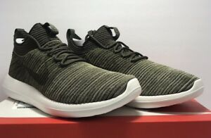 a8c8b8bad0132 Nike Mens Size 12 Roshe Two Flyknit V2 Sequoia Olive Green Athletic ...