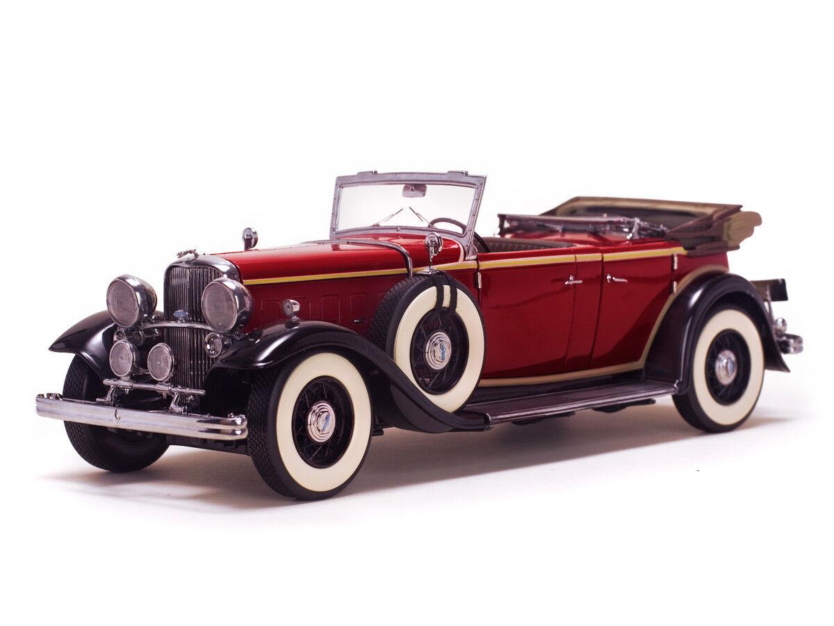 1932 Lincoln KB 1 18 Sunstar 6166 Rouge