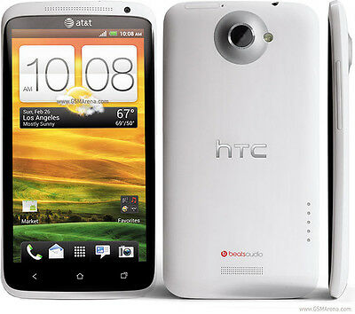 NEW HTC One X Unlocked GSM Carrier Smartphone - WHITE