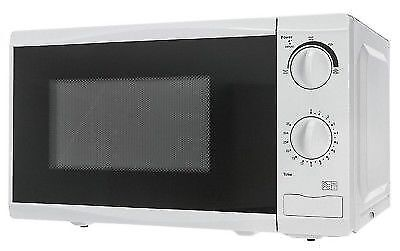 Tesco Mm08 Solo 17l 700w Microwave White For Sale Online