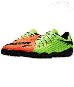 Nike Junior Hypervenom X Phelon III TF - Electric Green Black Hyper ... a01e20193c8f9