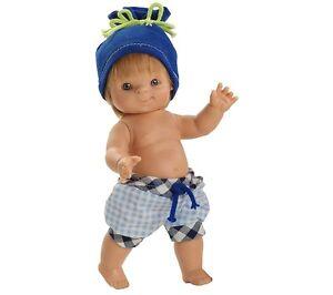 Spiel-Puppe-Mini-Puppe-Fidel-ca-20-cm-von-Paola-Reina-Art-Nr-630