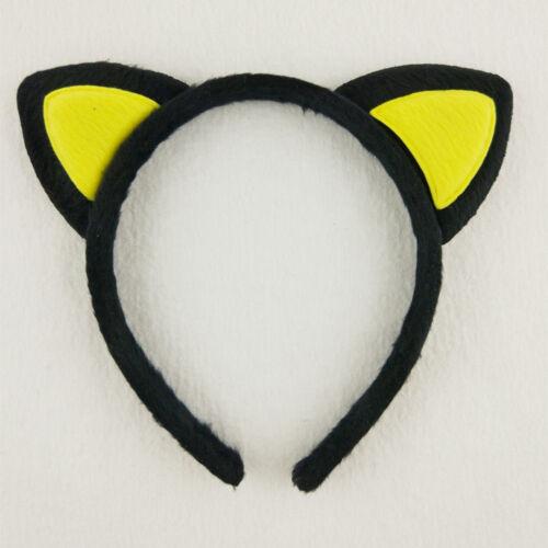 4pcs Cute Kid Gril/'s Women Cat Ear Fur Headband Fluffy Hair Band Animal Party