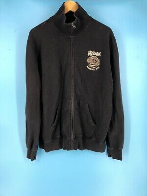 Clothing, Shoes & Accessories Sincere Lucky Brand Mens Sweatshirt Xl Vintage Inspired Black i3