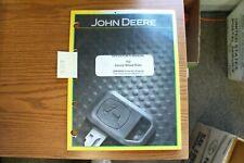 John Deere 702 Carted Wheel Rake Operators Manual