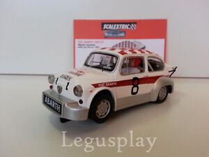 Slot-SCX-Scalextric-Altaya-Fiat-Abarth-1000TC-Manel-Juncosa-034-Rally-de-Orense-039-67-034