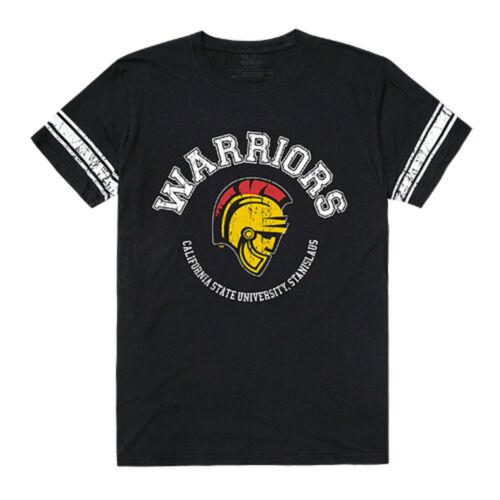 California State Stanislaus Warriors NCAA College Football T-Shirt S-2XL