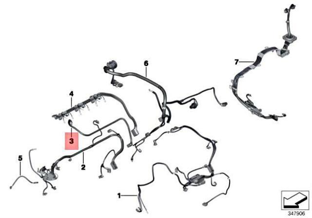 Genuine BMW N55 Engine Valvetronic Wiring Harness 12517592508 for sale  online | eBay | Bmw N55 Wiring Diagram |  | eBay
