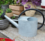 thumbnail 13 - HORTICAN Galvanized Watering Can Modern Style Watering Pot with Handle for Outdo