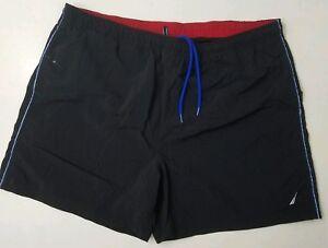 Nautica-Swim-Shorts-Size-2XL-Black-1791