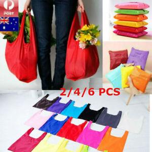 2-4-6-PCS-Foldable-Shopping-Reusable-Bags-Eco-Grocery-Bag-Storage-Tote-Handbags