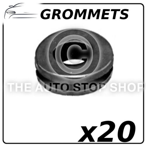 Fasteners Grommets INT 11 MM EXT 19 MM All Vehicles Part Number 718 Pack of 20