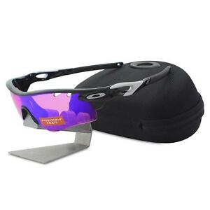 fdea4e12ce Oakley OO 9181-41 RADARLOCK Polished Black Prizm Trail & Clear Sport ...