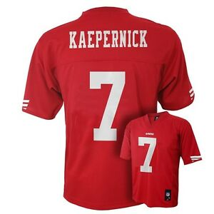 49ers Francisco Details 55 Kids Colin San About Youth Nfl Boys Jersey Kaepernick m-medium